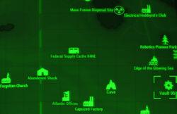 FO4 map Vault 95
