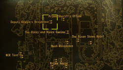 Beagle's residence local map