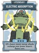 FO76OW Legend card Elec Absor
