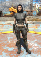 Fo4 Torn Shirt and Jeans female