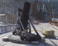 Fo76 artillery piece