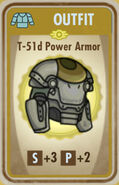 FoS T-51d Power Armor Card