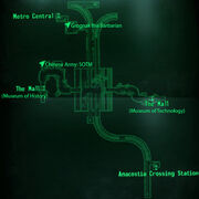 Metro Museum Station loc map