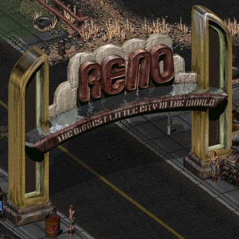 The famous Reno sign.