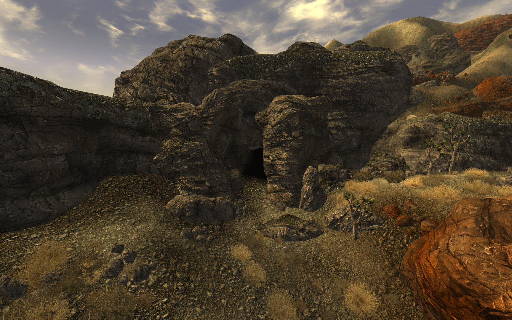 Bloodborne Cave exterior.jpg