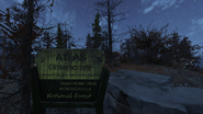 F76 Atlas Observatory sign