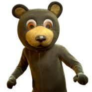FO76 Black Bear Mascot Outfit
