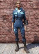 FO76 White Powder Jumpsuit