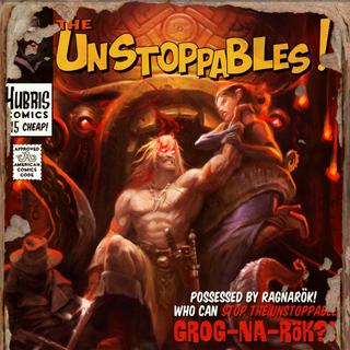 Issue #2: Who Can Stop The Unstoppable Grog-Na-Rok?!