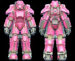 FO4CC T-45 power armor Slocum's Joe pink