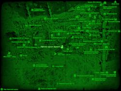 FO4 Офисное здание Дармута (карта мира)