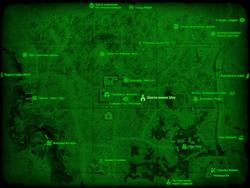 FO4 Школа имени Шоу (карта мира)