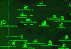 FO4 map Federal ration stockpile