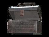 Empty mole miner pail