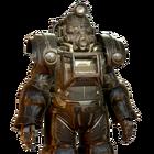 FO76 Atomic Shop - Coal dust excavator power armor paint