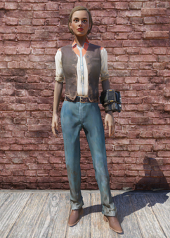 FO76 Western Outfit