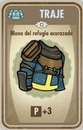 FOS Mono del refugio acorazado carta