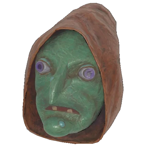 Faschnacht witch mask