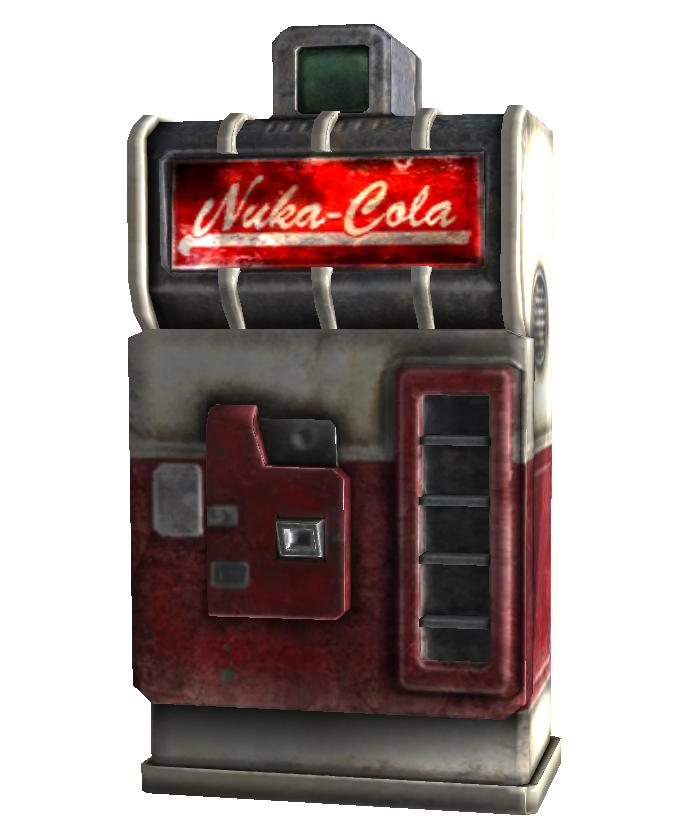 nuka cola vending machine fallout wiki fandom powered by wikia