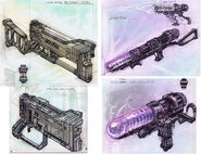 Laser rifle CA1