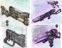 Laser rifle CA1
