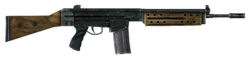 Winterized r91 assault rifle