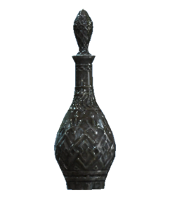 Crystal liquor decanter
