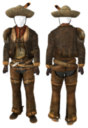 FNV OutfitRaul + HatRaul