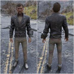 FO76 Куртка и джинсы стиляги