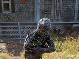 Petrified corpse