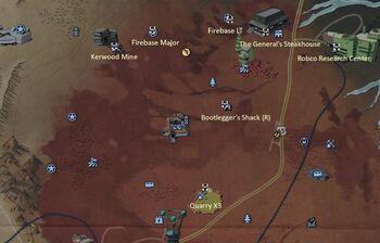 FO76 Power Armor Map Cranberry Bog North