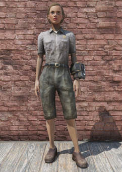 FO76 Ranger Outfit