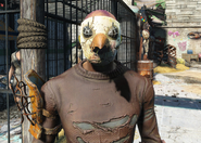 Fo4PackCrowMask Worn
