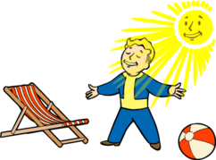 Fo4 Solar Powered