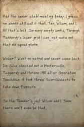 Last of the Thunder note