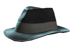 Silver Shroud hat