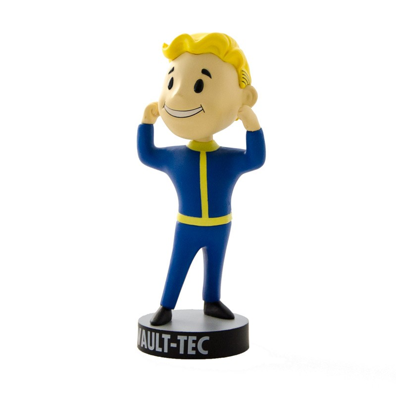 Vault boy bobblehead str