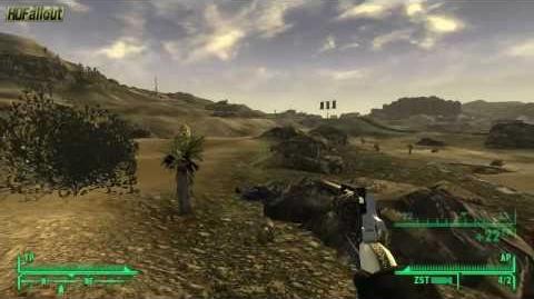 Waffe Glücksgriff - Fallout New Vegas Waffen Guide
