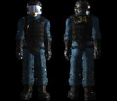 Vault 34 security armor male
