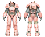 FO4CC X-01 power armor pink