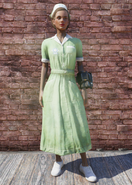 FO76 Asylum Worker Uniform Green