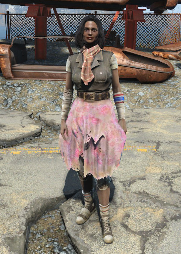 Ratty Skirt Fallout 4 Fallout Wiki Fandom Powered By Wikia