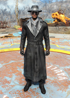 Fo4Silver Shroud Costume male