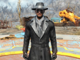 Silver Shroud costume (Fallout 4)