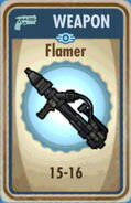 FoS Flamer Card