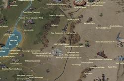 New Gad map