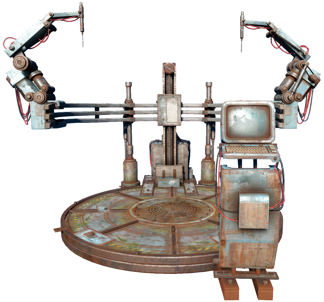 Fabulous Robot Workbench Fallout Wiki Fandom Powered By Wikia Unemploymentrelief Wooden Chair Designs For Living Room Unemploymentrelieforg