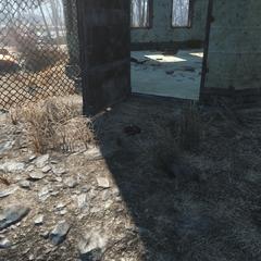 Mine near the bunker