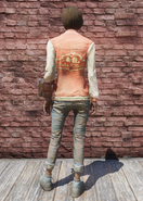 FO76 Nuka-World geyser jacket & jeans back