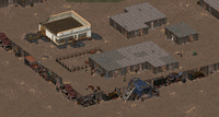 Fo1 Junktown Entrance